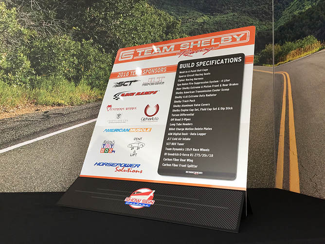 Car show board, Car show signs, car show display signs,